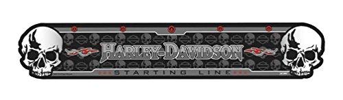 Throw Line Dartboard (Harley-Davidson Skull Throw Line)