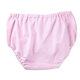 OK.OU Girls\' Combed Cotton Underwear Brief Pack of 3