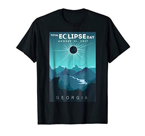 Solar Eclipse Georgia August 21 2017 T Shirt | Memorial Tee