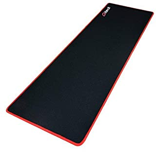 """GGLTECK Large Gaming Mouse Pad XXL/Extended Mat Desk Pad 36""""x12"""" Mousepad Long Non-Slip Rubber Mice Pads Stitched Edges with Portable Bag"""