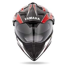 Yamaha YR8 Polycarbonate Full Face Helmet (Red, L)