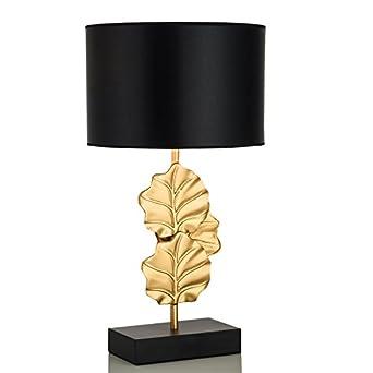 Schlafzimmer Nachttischlampe Moderne Kupfer Gold Leaf Wohnzimmer