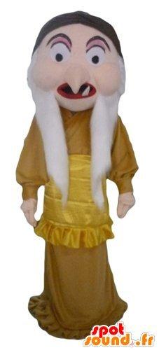 mascota SpotSound del carácter de la reina-bruja de ...