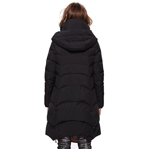 Section Autumn Personality Long Ms Coat Loose Warm Party Party Black Birthday Winter Down Jacket Thin And Travel ManRiya Attend vqSEwEBY
