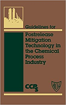 Book Guidelines Postrelease Mitigation Techn (Center for Chemical Process Safety 'Guidelines' series)