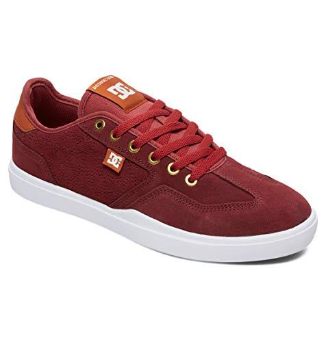 DC Shoes Men's Vestrey S AR Skate Shoes Red/Brown/White