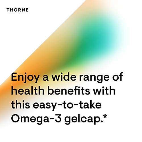 Thorne Research - Super EPA - Concentrated Omega-3 Fatty Acid Supplement - EPA and DHA - 90 Gelcaps