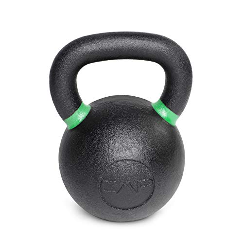 Cast Iron Competition Kettlebell Weight, 53 Pound, Black/Green ()