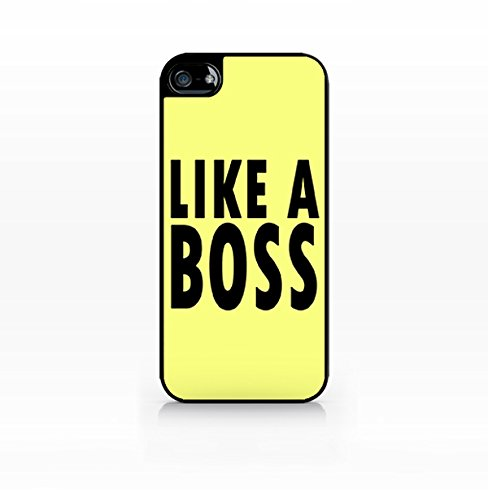 Cream Cookies - Typography Pattern Case - Like a Boss Sassy Case - Apple iPhone 5C Case - Apple iPhone 5CS Case - TPU Case - Hard Rubber Case