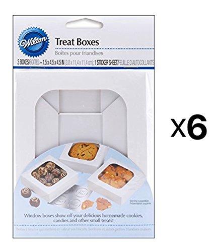 Treat Boxes-White 4.5