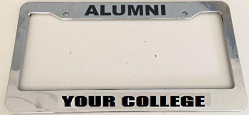 University Of British Columbia Alumni Chrome License Plate Frame