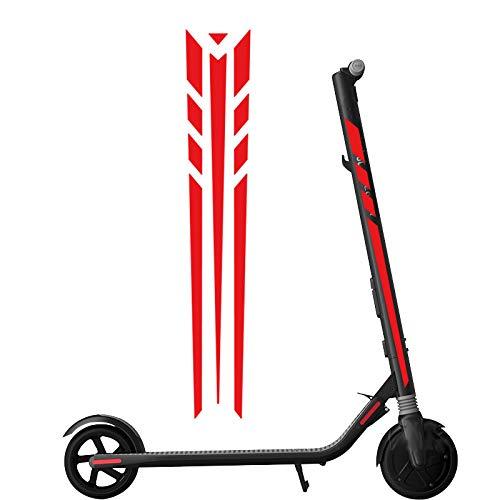Vaycally Scooter eléctrico monopatín pegatinas reflectantes ...