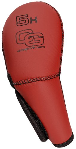 Club Glove #5 IC Hybrid Gloveskin (Red), Outdoor Stuffs