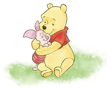 amazon com 11 piglet hugs winnie the pooh bear disney removable