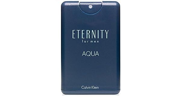 Calvin Klein Eternidad aguamarina Eau de Toilette Viaje para Hombres - 20 ml: Amazon.es: Belleza