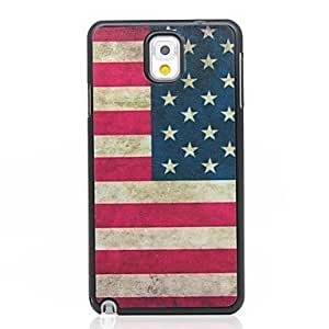 CeeMart Vintage American Pattern Hard Case for Samsung Galaxy Note 3 N9000 by ruishername