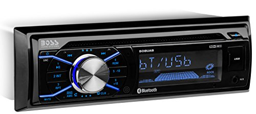 Boss Audio 508Uab Single-Din In-Dash Mp3-Compatible Am/Fm/Cd Receiver (With Bluetooth) by BOSS Audio