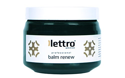 Lettro Balm Renew, quality leather restore and colour revive for furniture car seats shoes upholstery saddlery, 200ml (dark green)
