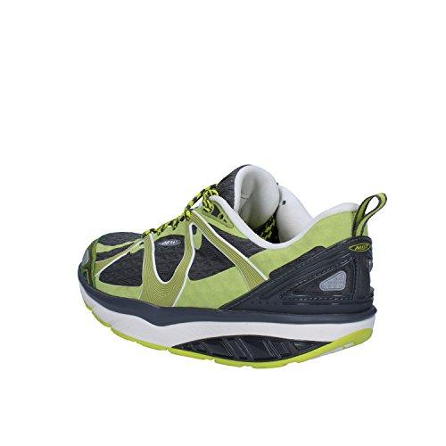 MBT Sneakers Femme 37 EU Vert Gris Textile
