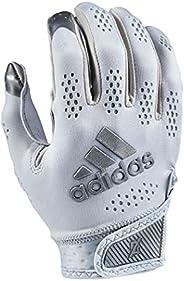 adidas Adizero 11 Turbo Football Receiver Glove, Gray, Medium