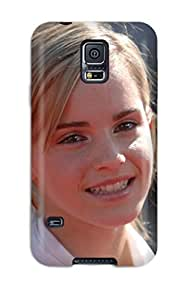 Cute Tpu CaseyKBrown Emma Waton Smiling Widescreen Hd Case Cover For Galaxy S5