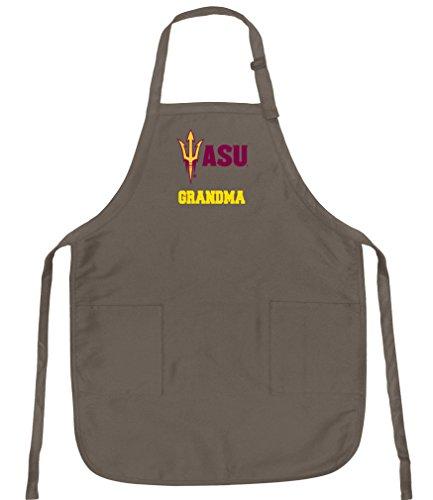 - Broad Bay Deluxe ASU Grandma Apron Official Arizona State Grandma Logo Aprons