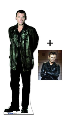 FAN PACK - CHRISTOPHER ECCLESTON (THE 9TH DOCTOR WHO) - BBC DOCTOR WHO / DR WHO / DR. WHO - LIFESIZE CARDBOARD CUTOUT (STANDEE / STANDUP) - INCLUDES 8X10 (25X20CM) STAR PHOTO - FAN PACK #192
