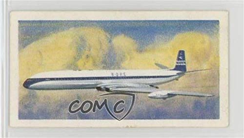 First Turbojet Airliner (Trading Card) 1966 Brooke Bond Transportation Through the Ages - [Base] #42 from Brooke Bond Transportation Through the Ages