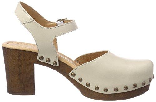 Grau Eva Lightgrey Femme Plateforme POINTS Sandales TEN wgxFqXC5Ww