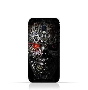 BlackBerry Aurora TPU Protective Silicone Case with Terminator Robot Design