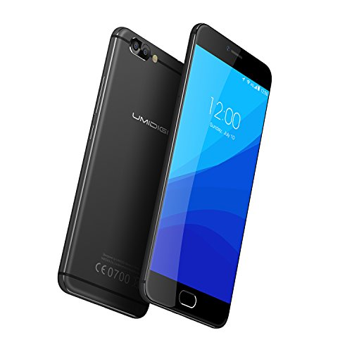 UMIDIGI Z Pro Smartphone 5.5 Zoll Display,4G Dual SIM ,Android 6.0, Deca-Core Helio X27 2.6Ghz Prozessor,4GB RAM 32GB ROM,Kamera 13MP13MP Handy,Front Touch Fingerabdruck Sensor Handy