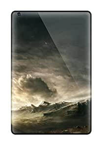 Richard V. Leslie's Shop 7691522K30955375 Unique Design Ipad Mini 3 Durable Tpu Case Cover Landscape Sci Fi