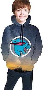 M-R Be-AST Novelty Boys Hoodie Sweatshirts Trend for Teens