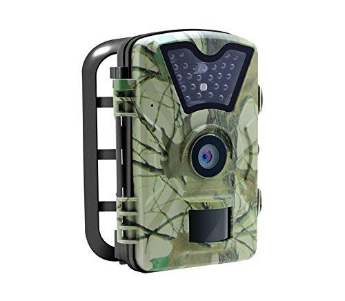 赤外線ナイトビジョン1080P HD 12MP野生生物狩猟偵察カメラとのMEASYトレイルカメラ B076SLHT8N