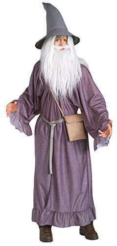 Deluxe Gandalf the Grey Costume - Standard - Chest Size 44 -