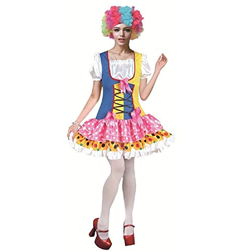 Clown Costumes for Adults Men and Women