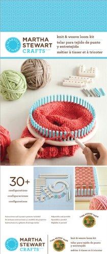 Martha Stewart Crafts Knit & Weave Loom 1 pcs sku# 828054MA by Lion Brand
