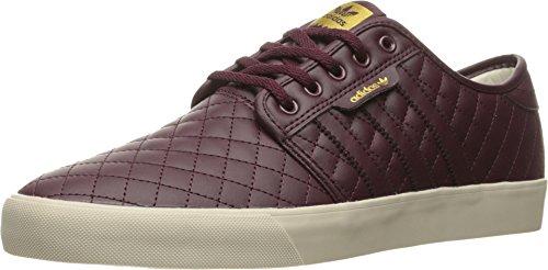 Adidas Originals Mens Seeley Snörning Skor Rödbrun / Maroon-rödbrunt