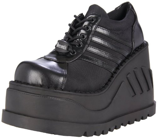 Stomp Womens Platform (Demonia Pleaser Women's Stomp-08 Oxford)