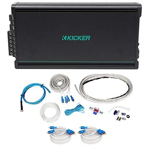 - KICKER 45KMA4506 450w 6-Channel Marine Boat Amplifier 2-ohm+Amp Kit KMA450.6