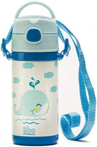IrisanaBaby 72.BBO8.AZ - Termo con pajita, color azul: Amazon.es: Bebé