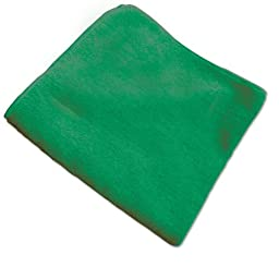 O\'Cedar Commercial 96067 MaxiPlus Multi-Purpose Microfiber Cloth, Green (Pack of 12)