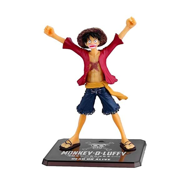 Anime One Piece Monkey D Luffy PVC Action Figure Model Collection Gift