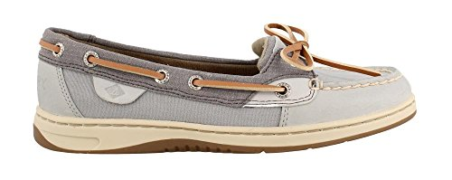 - Sperry Women's, Angelfish Boat Shoes Grey MESH 9.5 M