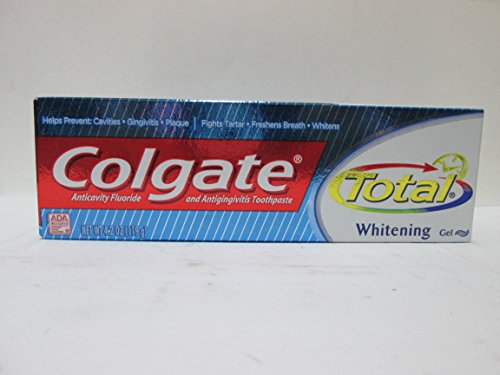 Colgate Total 12 Hour Multi-Protection Toothpaste, Plus Whitening - 4.2 oz