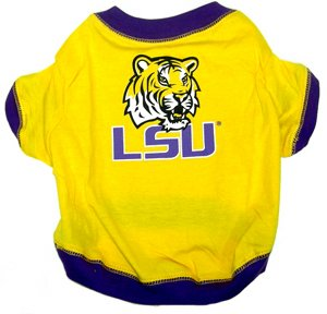 NCAA Louisiana State University Pet T-Shirt, Small, My Pet Supplies