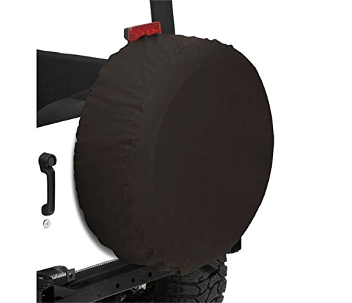 - Bestop 61026-01 Black Crush X-Small Tire Cover for tires 26.5