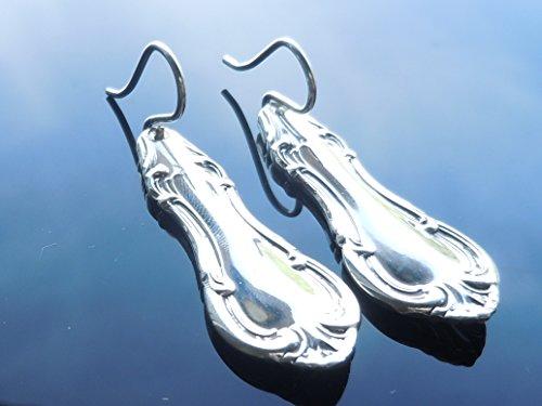 International Joan of Arc 1940 Earrings Sterling