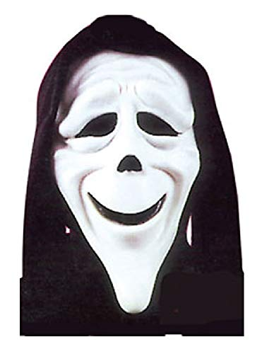 (Mens Stoned Scary Movie Mask Film Halloween Horror Scream Fancy Dress Costume Accessory (One)
