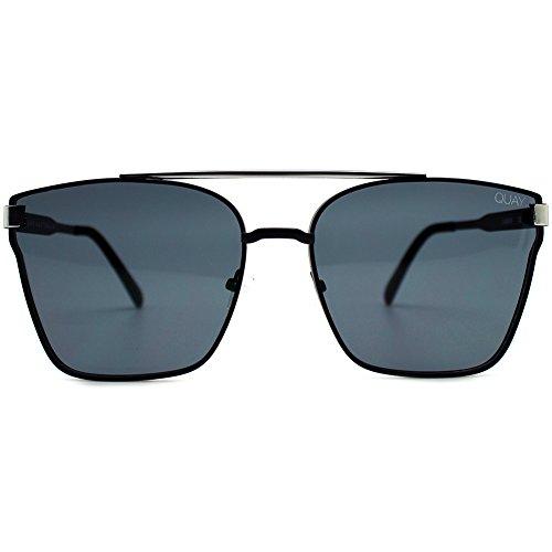 QUAY AUSTRALIA  Men's Cassius Black/Smoke One - Quay Sunglasses Mens